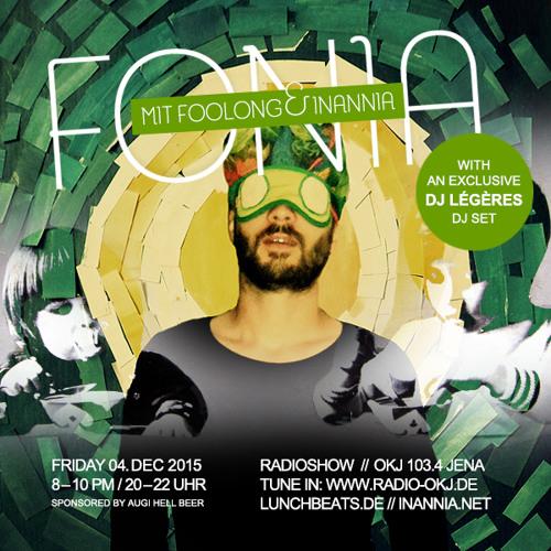 Fonia Radio Show - Session 36 (Guest: DJ Légères)