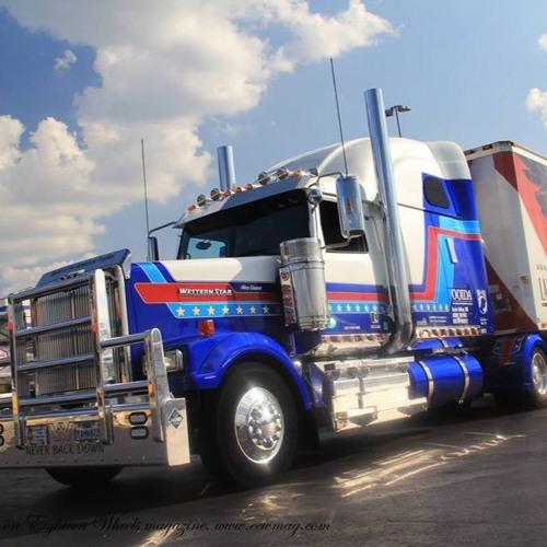 Chrome And Steel Radio - Old School Trucker