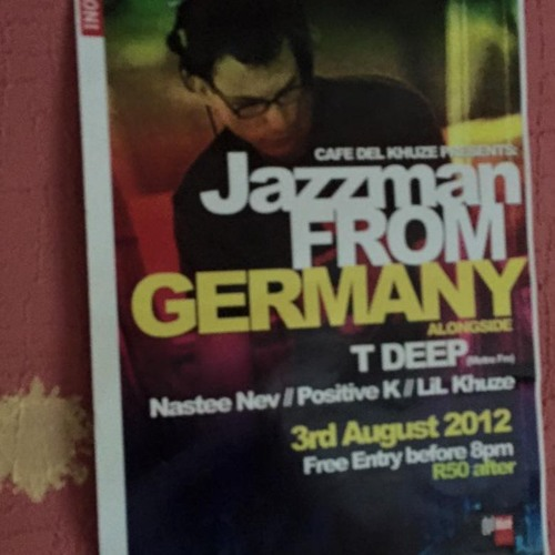 """Deep Inspiration Show 191 """"Live @ Cafe del Khuze (Pretoria) South Africa"""""""