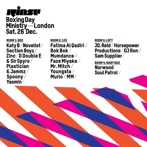 Rinse FM Podcast - 2020 w/ Ivy Lab, Thebis + Friends - 22nd December 2015