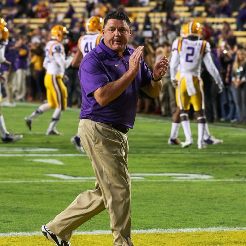 LSU defensive line coach Ed Orgeron