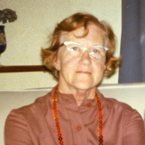 Freda Waterfield (Brown) 1985 - 02