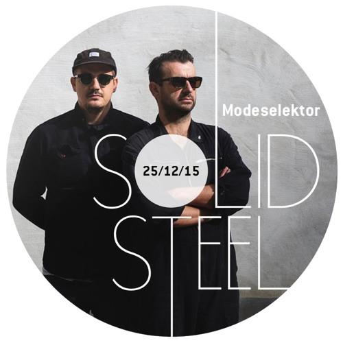 Solid Steel Radio Show 25/12/2015 Hour 1 - Modeselektor