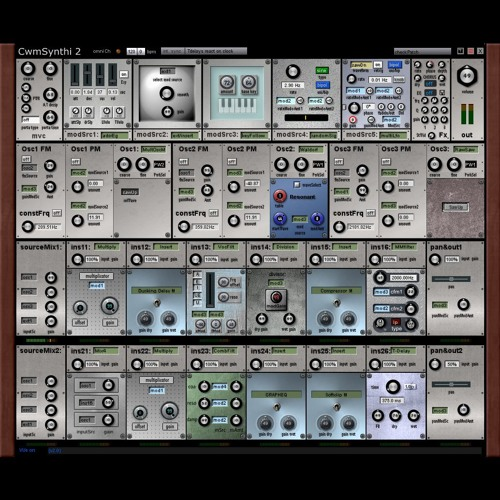 CwmSynthi2 demo: Synth