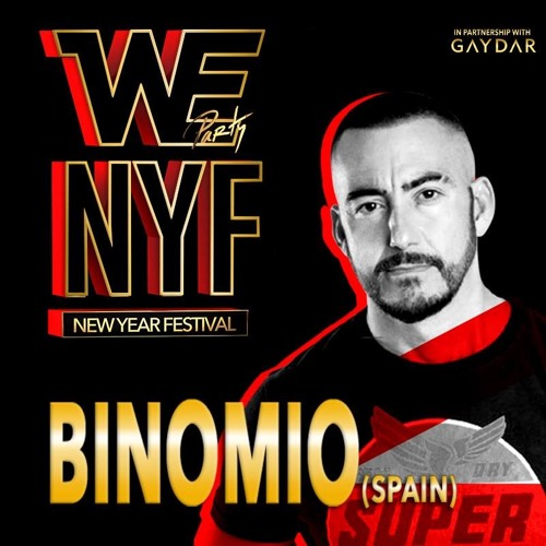 WE PARTY NEW YEAR FESTIVAL 2015/16 - BINOMIO