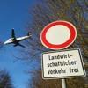 A landing Lufthansa Airbus A320 at Munich airport