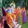 Lord Krishna Playing Flute For Radharani Other Devotees 09 16 2012 Nitai1284