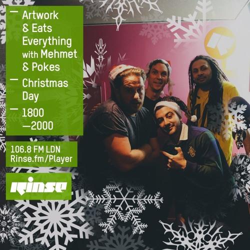Rinse FM Podcast - Artwork & Eats Everything - December 25th
