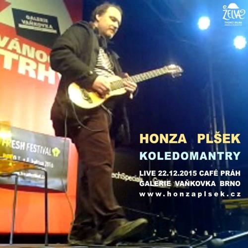 Honza Plšek - Koledomantry - LIVE 22.12.2015 Café Práh, Galerie Vaňkovka Brno