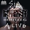 SIA - ALIVE BOOTLEG By HEAVY INTENT  *FREE DOWNLOAD* DnBSource