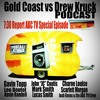Gold Coast vs Drew Kruck - ABC TV – The 7:30 Report – 1 & 2 – Gavin Topp, John Coutis, Lucas Smith, Mark Smith, Charne Louise, Scarlett Morgan