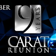 2015-12-26 A-TOM-X@9 Years Carat Reunion, La Rocca Ballroom