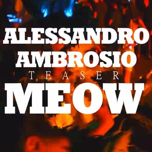 Alessandro Ambrosio - Meow (Original mix) TEASER (Tomorrowland)