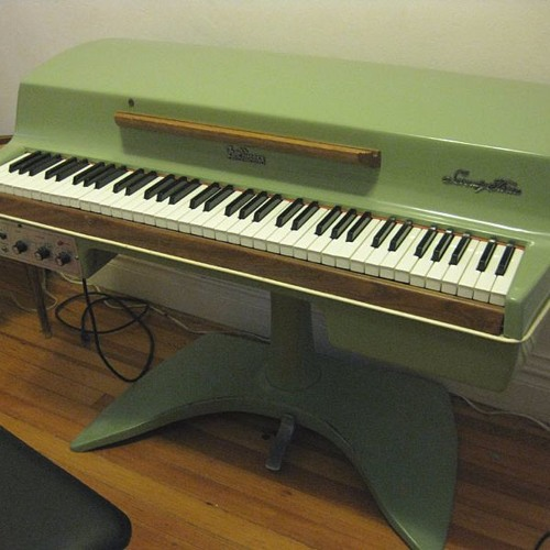 The Things She Needs (on 1960s Fender Rhodes Avocado Student Model)