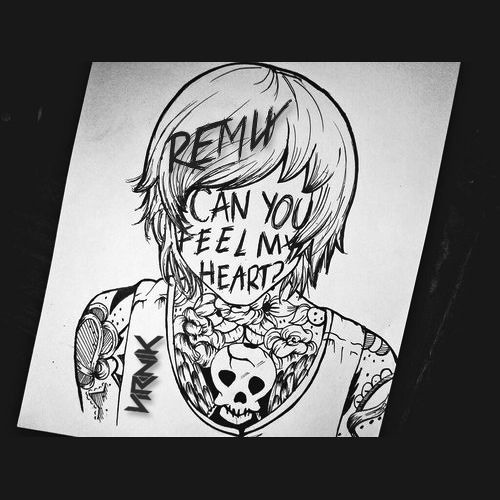 bring me the horizon can you feel my heart artwork www