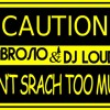 Ambrosio & Dj Loud K - Don't Srach Too Much (Original mix) OFFICIAL TEASER!