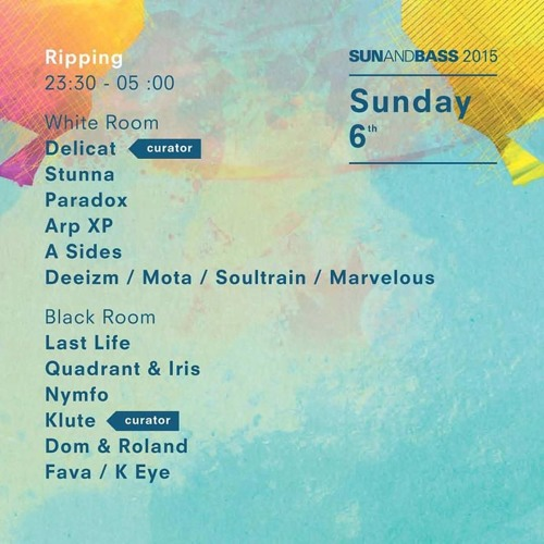SUN AND BASS 2015 - NYMFO