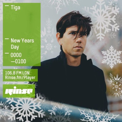 Rinse FM Podcast - Tiga - 1st January 2016