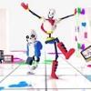 【MMD, Undertale】 Drop Pop Candy - Sans And Papyrus