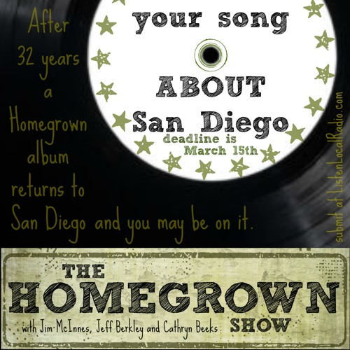 Homegrown Album Submissions 2016