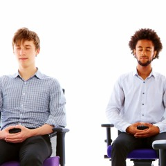 Guided breathing meditation to reduce anxiety and stress