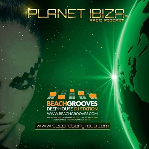Planet Ibiza Radio Podcast mixed by JEY INDAHOUSE @ Beachgrooves - 2nd hour - 09/12/15