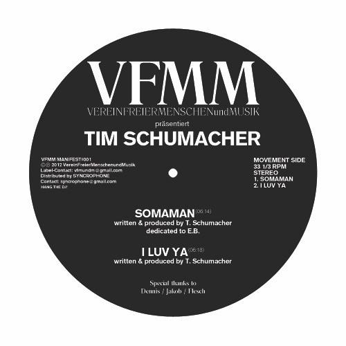 VFMM Manifest#003 Tim Schumacher - B1 Fijn Hus