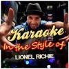 Karaoke de la canción TRULY de Lionel Richie