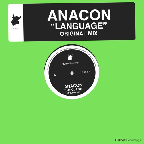 Anacon - Language (Original Mix) PREVIEW