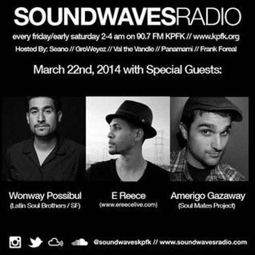 Live On Soundwaves Radio KPFK - March 2014