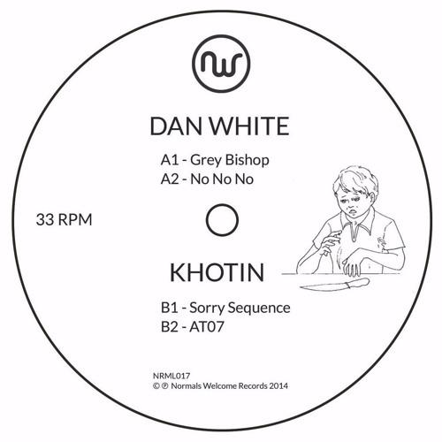 "Dan White/Khotin - Split 12"" (NRML017)"