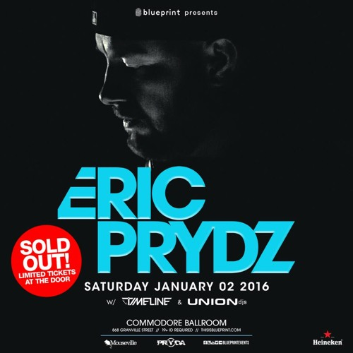 UNIONdjs Live @ Commodore / Opening For Eric Prydz  Jan. 2nd/2016