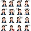 Fly Away with Melody JKT48 Line Sticker