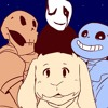 We Are The Crystal Gems [Asriel, Gaster, Sans, Papyrus]
