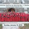 1 - 10 - 16 Tomorrow Shall Be My Dancing Day - Gardner Schola & Redeemer Choir