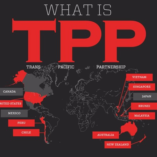 TPP update and forecast with NZ activist and trade unionist Edward Miller