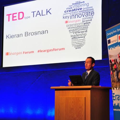 Kieran Brosnan Ted Talk, Léargas Forum 10 Dec 2015