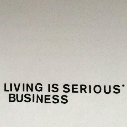 Fit Siegel Tim Quot Love Quot Lee Living Is Serious Business border=