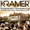 DJ Kramer - Live @ DISTRIKT Closing Party 2015 - Sept 5, 2015