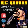 MC Rodson :: Ao vivo no aniversário do MC Alexandre :: Portada del disco