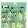 Lord, Grant Me Today's Supply/ Sun Of My Soul (MASH) - with Edwin