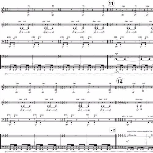 Half Of A Dog for flute, clarinet, cello and piano