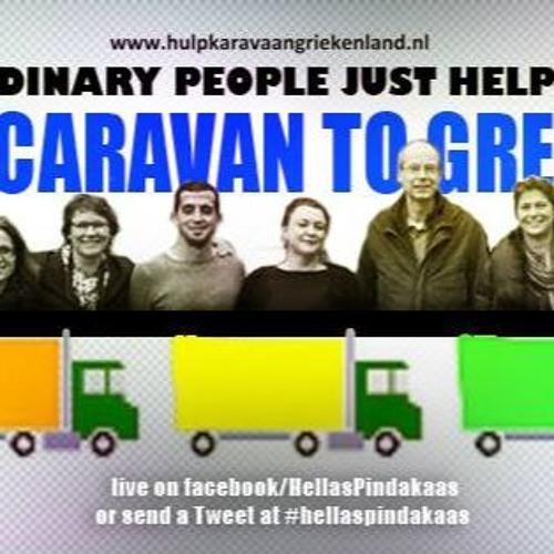 Aid Caravan to Greece - Gewone mensen helpen gewoon, Erika Mauritz & Diana Kretschmann (In English)
