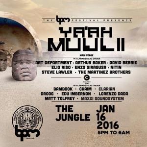 Edu Imbernon live @ Ya'ah Muul II (BPM Festival 2016) – 16.01.2016