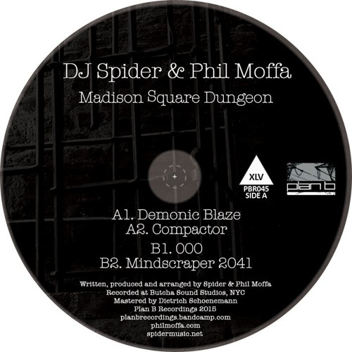 DJ Spider & Phil Moffa - Madison Square Dungeon EP (Audio Clips)
