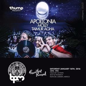 Apollonia live @ Thump presents Apollonia (BPM Festival 2016) – 16.01.2016