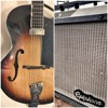 Guitar improv - Gretsch Archtop, Epiphone Amp 1 - 18 - 16