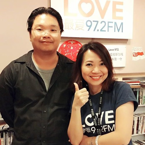 Love 97.2FM - Interview with Maths Heuristics, Sunny Tan