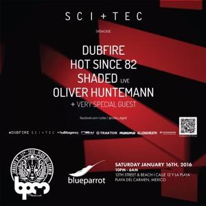 Dubfire b2b Joseph Capriati live @ SCI + TEC Showcase (BPM Festival) – 16.01.2016