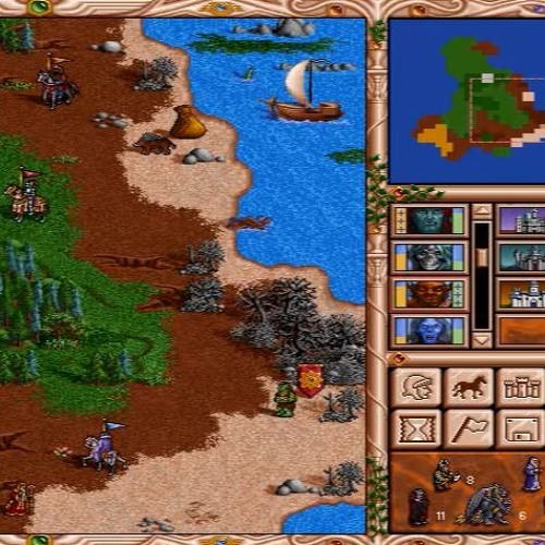 Heroes of Might And Magic II Soundtrack mod demake by JMD